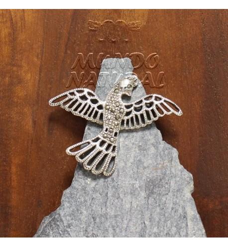 Broche Marquesitas Pájaro