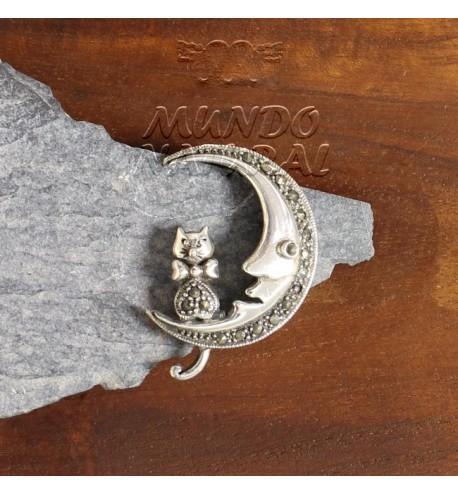 Broche Marquesitas Luna