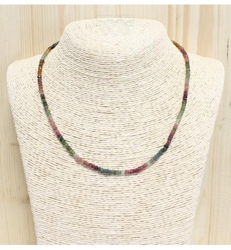 Collar Turmalina Tallada Regulable